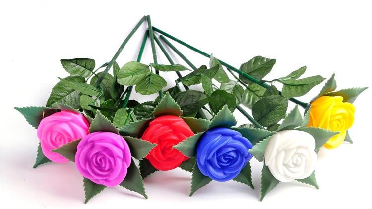 Nova ruža romantični otvoreni dvorište vrt put put tulipani bar - Rasvjeta za odmor - Foto 2