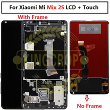 ЖК дисплей с рамкой для Xiaomi Mix 2S Mix2S, сменный сенсорный экран с дигитайзером в сборе, стеклянная панель для Xiaomi Mi MIX Mix 2 Mix 2S