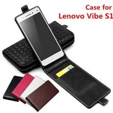 Classic Luxury Advanced Top Leather Flip Leather case For Lenovo Vibe S1 Lenovo Vibe S 1