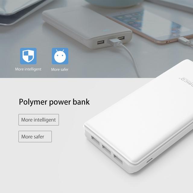 20000mAh Power Bank 3 USB Port External Battery