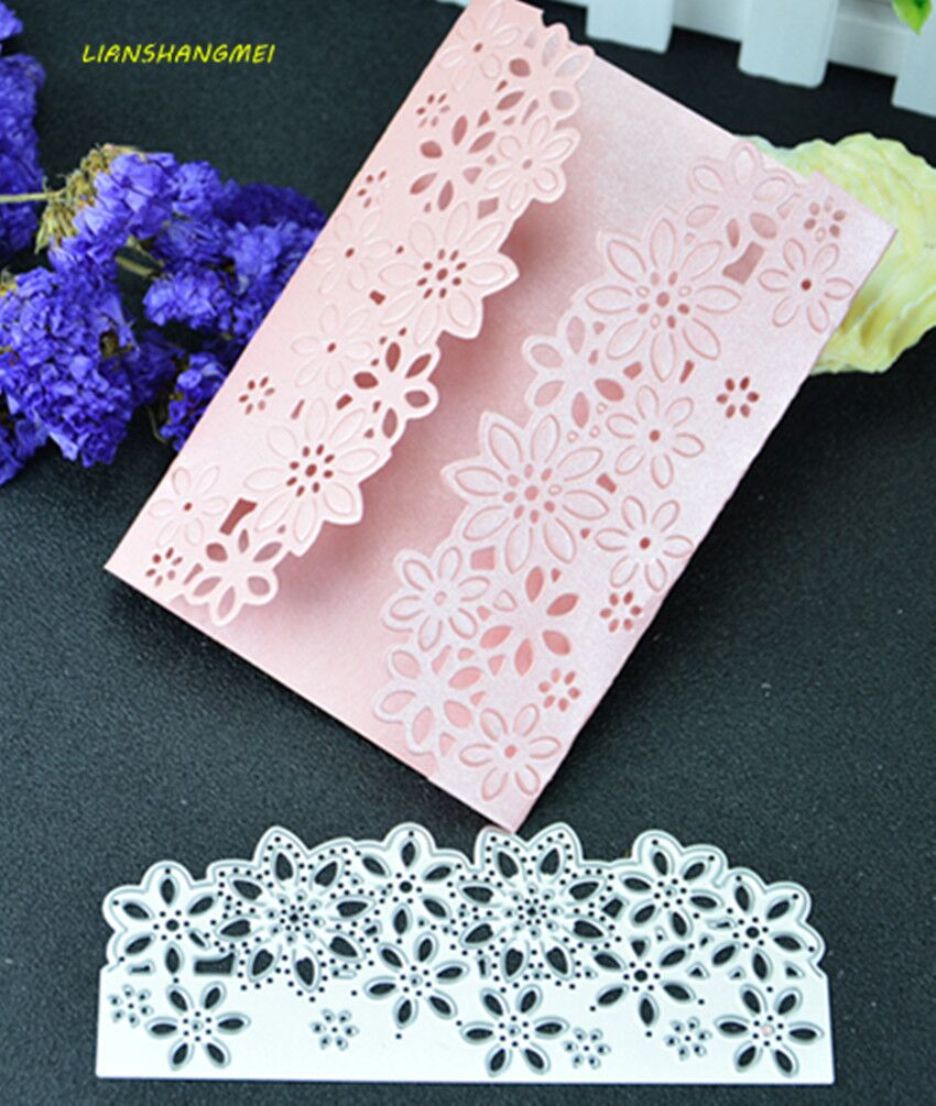 Encaje metal Recortes de papel plantillas para DIY scrapbooking ...