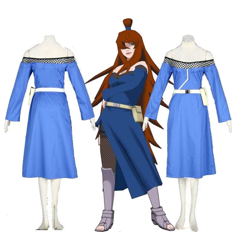 Cartoon Anime Character Cosplay NARUTO Terumi Mei 5th ...