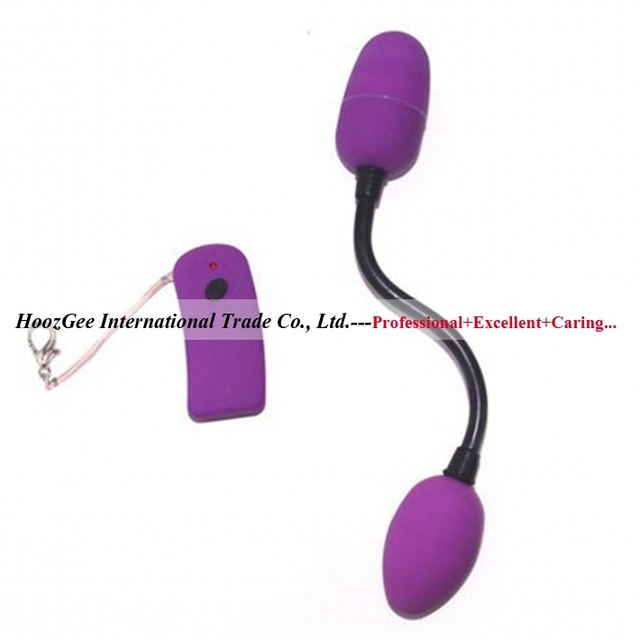 BAILE BRAND Wireless Control Double-Vibe Eggs Vibrator Two Vibrating Egg Sex Products Adullt Toys bi-014047-1