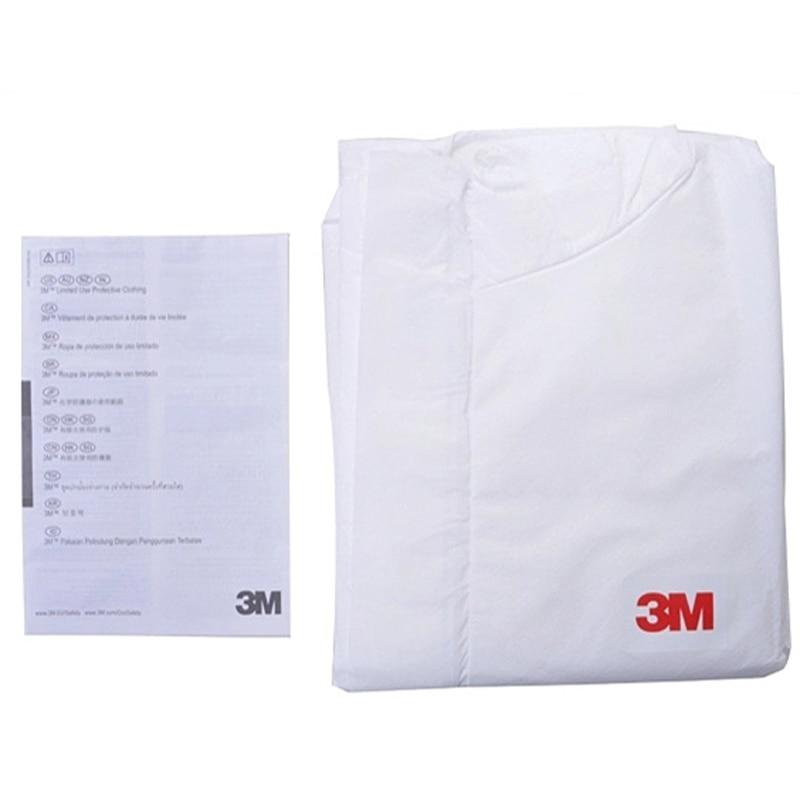 3M 4510White non-woven tyg Coverall Kläder Antistatisk och - Säkerhet och skydd - Foto 5