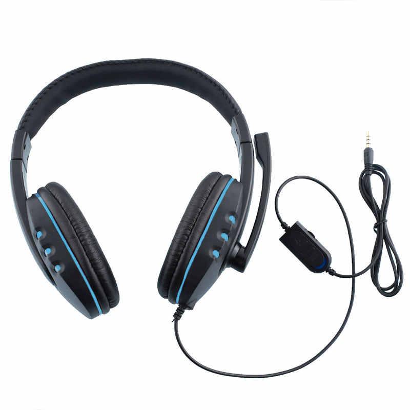 MVPower проводной игровой стерео басовые наушники шлем наушники с микрофоном для ПК компьютера геймера skype chat MP3 плеер