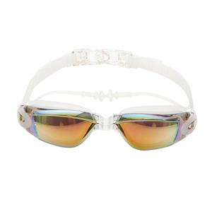 Optical Swimming Goggles Men Women Myopia Pool Earplug Professional Waterproof Swim Eyewear Prescription Adult Diving Glasses