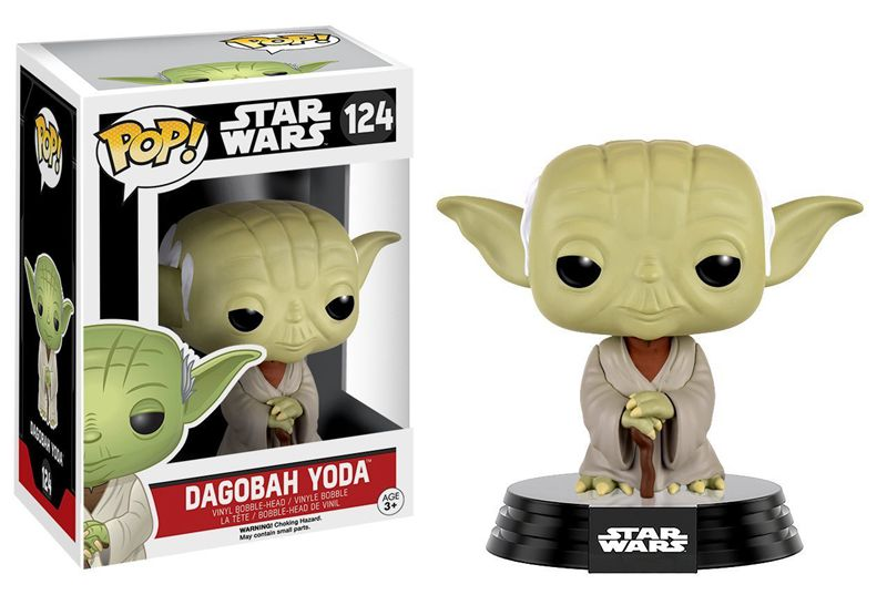 Funko pop Official Star Wars - Dagobah Yoda Classic Vinyl Action Figure Collectible Model Toy with Original BoxFunko pop Official Star Wars - Dagobah Yoda Classic Vinyl Action Figure Collectible Model Toy with Original Box