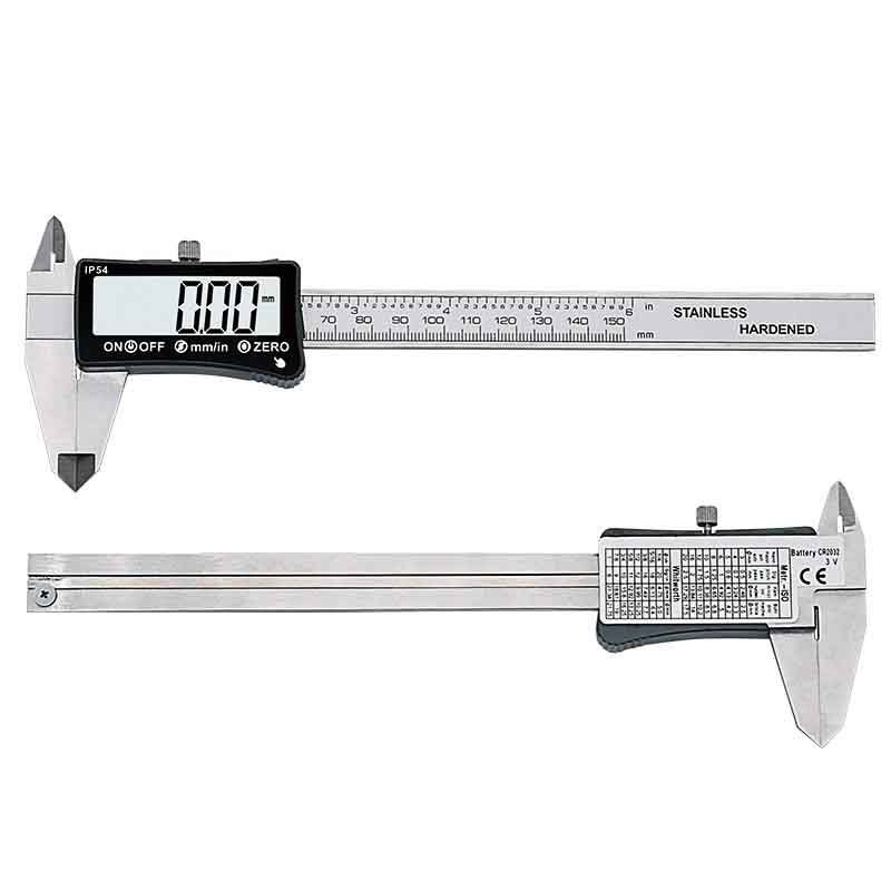0 150mm Stainless Steel Touch Screen Digital Caliper High Precision Electronic Caliper Mini Measuring Tool in Calipers from Tools