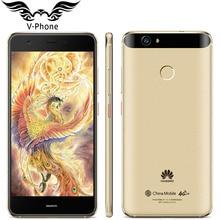 Оригинальный Huawei Nova 4 г LTE мобильный телефон 3 ГБ 32 ГБ MSM8953 Octa core 2 ГГц 5.0 «FHD 1920X1080px Dual SIM 12MP 3020 мАч отпечатков пальцев