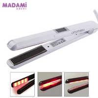 Madami LCD ultrasons infrarouge outil de soin des cheveux fer kératine traitement huile d'argan récupérer cheveux endommagés lisse traitement fer