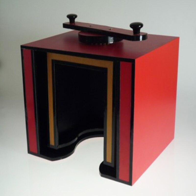 Глава Twister фокусы голова кругом Magia коробка профессиональный маг этап иллюзии трюк реквизит аксессуары забавные - 2
