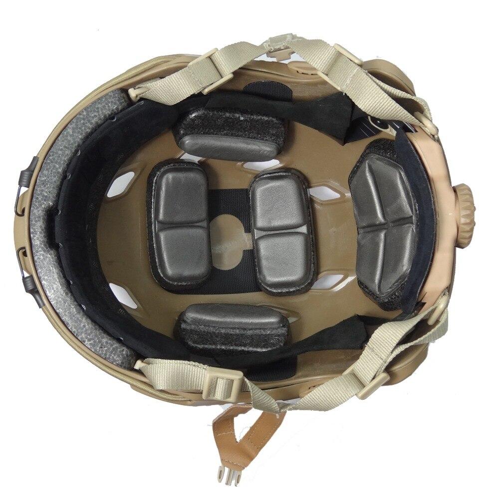 kevlar helmet  Airsoft paintball ballistic helmet FAST--BJ-Tan Standard version  military Tactics  Climbing helmet free shipment kevlar helmet airsoft paintball ballistic helmet fast bj green standard version helmet military tactics hat