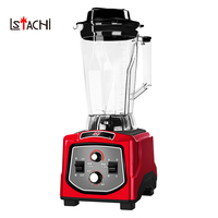 LSTACHi Smoothie Blender Mixer Food Professor 3 Gear High Speed Fruit Vegetable Juice Mixer Heavy Duty Ice Crusher