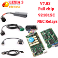 V7.83 полный чип Diagbox pp2000 Lexia3 диагностический инструмент Lexia 3 PP2000 V48 lexia3 с 921815C/V25 Citroen для Peugeot
