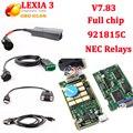 V7.83 chip completo Diagbox pp2000 Lexia3 herramienta de diagnóstico de Lexia 3 PP2000 V48 lexia3 con 921815C/V25 para Citroen Peugeot