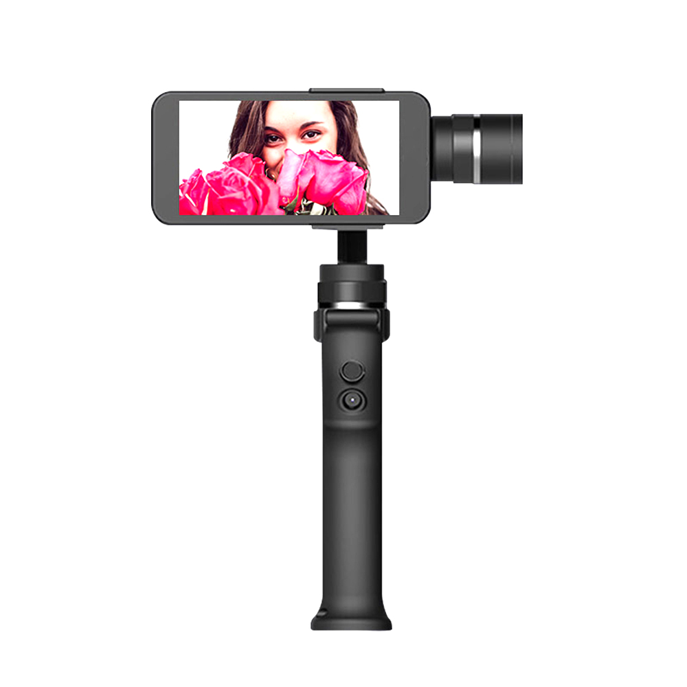 Anti-Shake 3-Axis Handheld Gimbal Bluetooth Action Smartphone Smooth Panoramic 360 Degree Smart Selfie Sticks Phone Stabilizer xjjj jj 2 3 axis brushless handheld gimbal stabilizer 360 degree shooting fitting smart phone