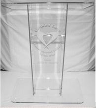 Free Shipping modern Customized Acrylic Lectern For Church Pulpit Acrylic Church Lectern Podium tanie tanio Meble komercyjne Reception Desk Meble biurowe 1150x600x400mm SHANGSHISHU Lectern-0168 Akrylowe