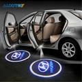 2x Car LED Luz de Aviso De Porta Para Hyundai accent solaris i30 ix35 coupe elantra santa fe tucson getz sonata i40 i10 i20 tiburon