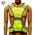 Amarelo fluorescente de Alta Visibilidade Colete Refletivo De Segurança Equipamentos de Trabalho Nocturno Novos Chegada da Alta Qualidade