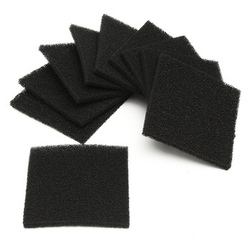 Different Quality 10 pcs Activated Carbon Filter Sponge For 493 Solder Smoke Absorber ESD Fume Extractor fume activated carbon