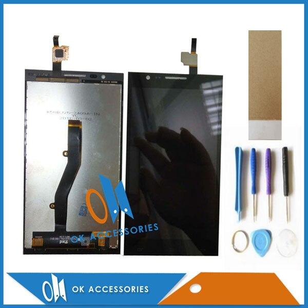 5.0 pouce Pour MTC Smart Surf 4g Écran lcd + Écran Tactile Digitizer Haute Qualité Noir Couleur Avec Outils bande 1 pc/lot