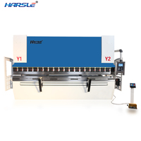 highly accurate excellent Harsle 3200mm cnc hydraulic press brake machine
