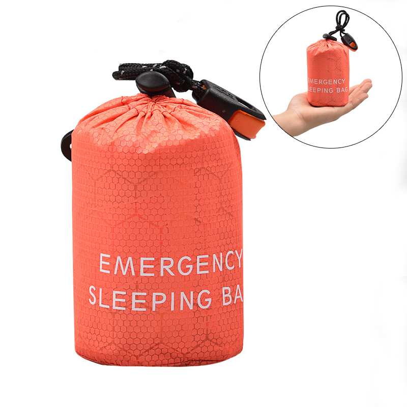 New Portable Camping Sleeping Storage Bag cover Outdoor Emergency Sleeping Bag Case with Drawstring Sack for Camping Hiking