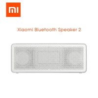 Xiaomi Bluetooth Speaker 2 Portable Speaker Square Box HD Sound Outdoor Ultra Long Time Playing Mini Subwoofer Speaker