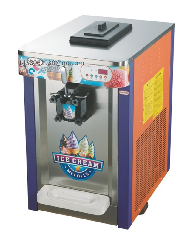 China Commercial Soft Ice Cream Making Maker All Stainless Steel Vertical Desktop soft ice cream machine xq22x commerical electric soft ice cream maker making machine