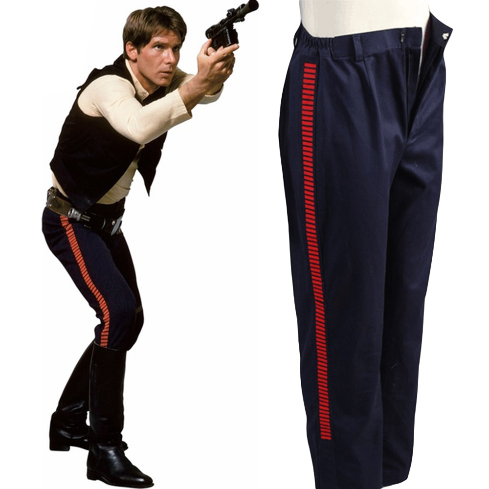 Star Wars ANH A New Hope Han Solo Pants Cosplay Costumes Halloween Party For Adult Men