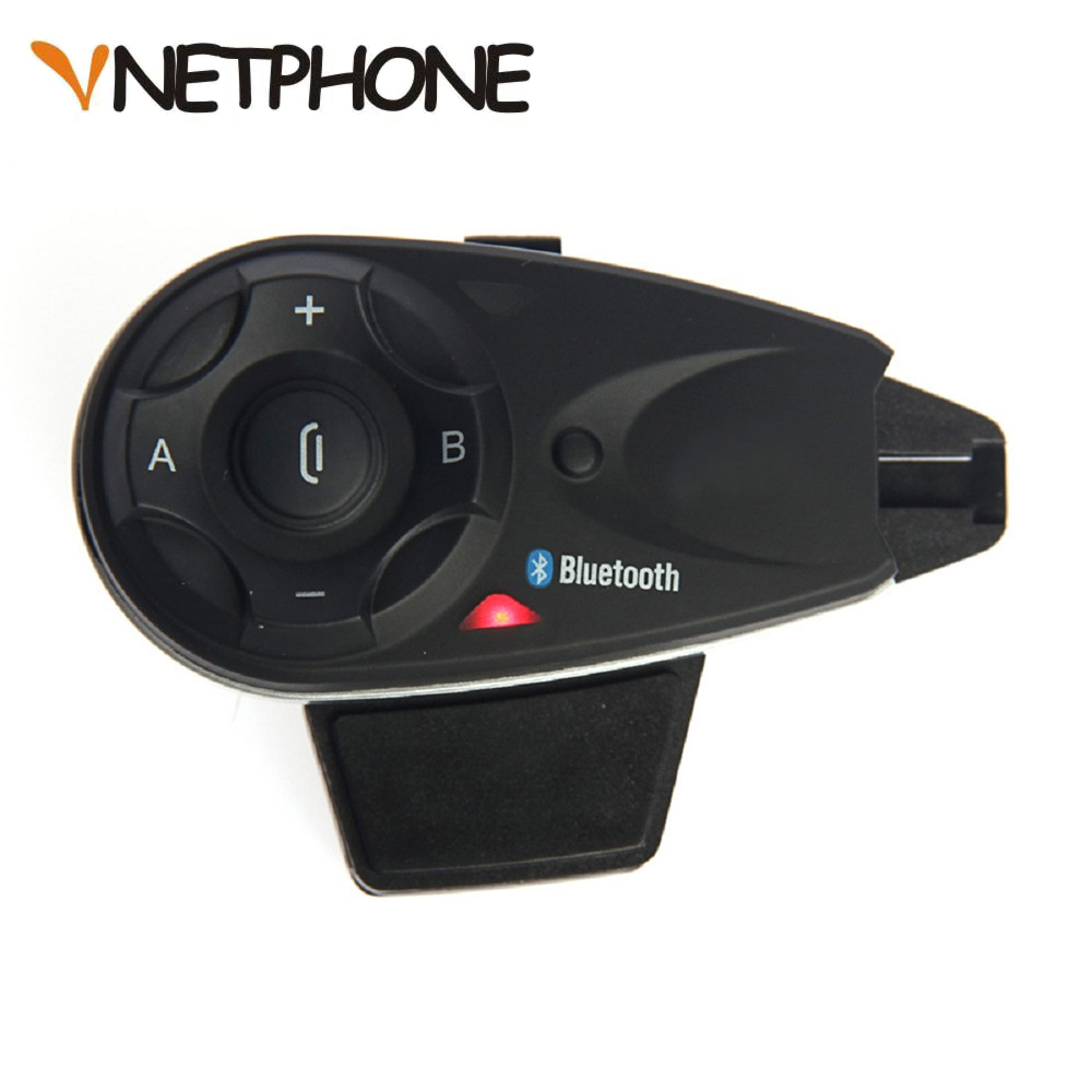 Vnetphone V5 1200M 5 Riders Bluetooth Motorcycle Helmet Intercom Interphone Headset Talk at same time Wireless