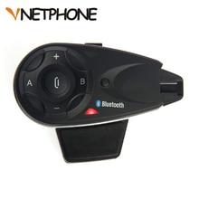 Vnetphone V5 1200 м 5 всадников Bluetooth мотоциклетный шлем Интерком переговорные гарнитура обсуждение в то же время Беспроводной соединения