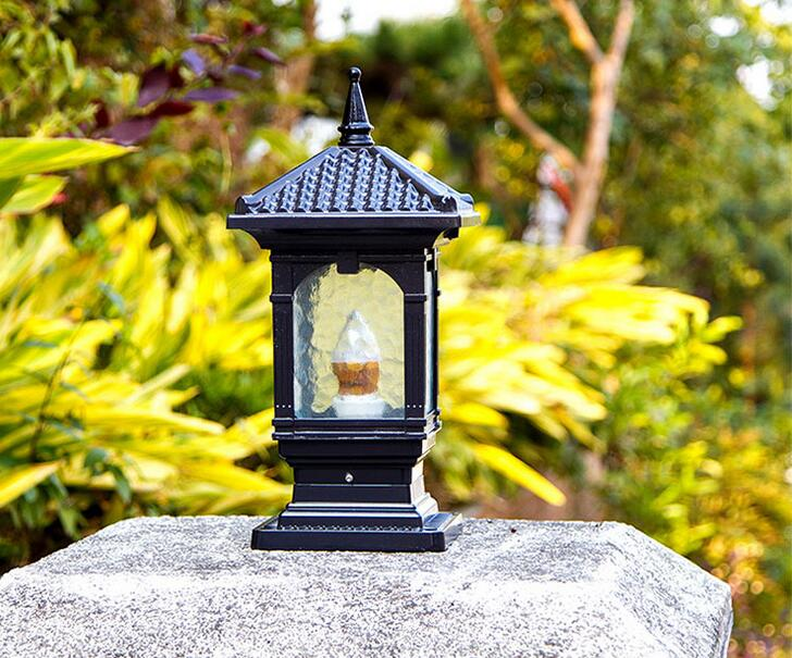 Outdoor Light wall lamp headlight lamp door square European style villa garden courtyard light the ivory white european super suction wall mounted gate unique smoke door