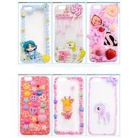 3D Cute Handmade DIY Macarons Creamy Cartoon Phone Case Cover For Xiaomi Max 2 Mix 2