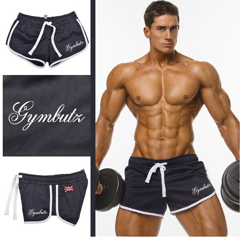 Mens Shorts Jogger Gyms Fitness Workout Bodybuilding Beach Casual Fashion Summer Brand