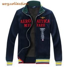 man hoody, AERONAUTICA MILITARE hoodies,sweatshirt men ,rib cotton jockets man plus XXL Free Shipping