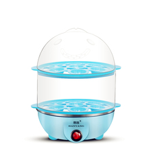 Multifunctional Electric 14 Egg Boiler  220V plastic egg double boiler Power-off Protection electric