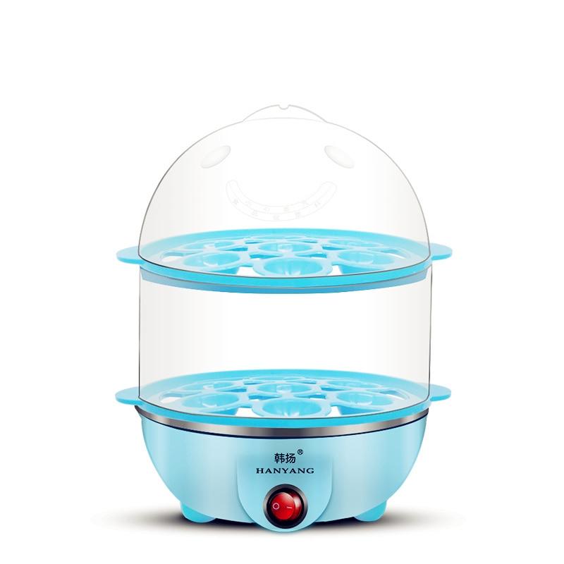 Multifunctional Electric 14 Egg Boiler  220V plastic egg double boiler Power-off Protection electric