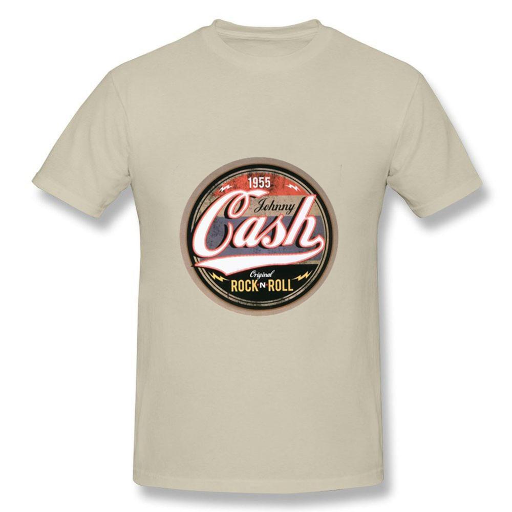 624d8b1bca New Arrival Mens t shirts Online Johnny Cash Casual Rock N Roll T Shirt  Camisetas Short Sleeve t shirt Men For Gift