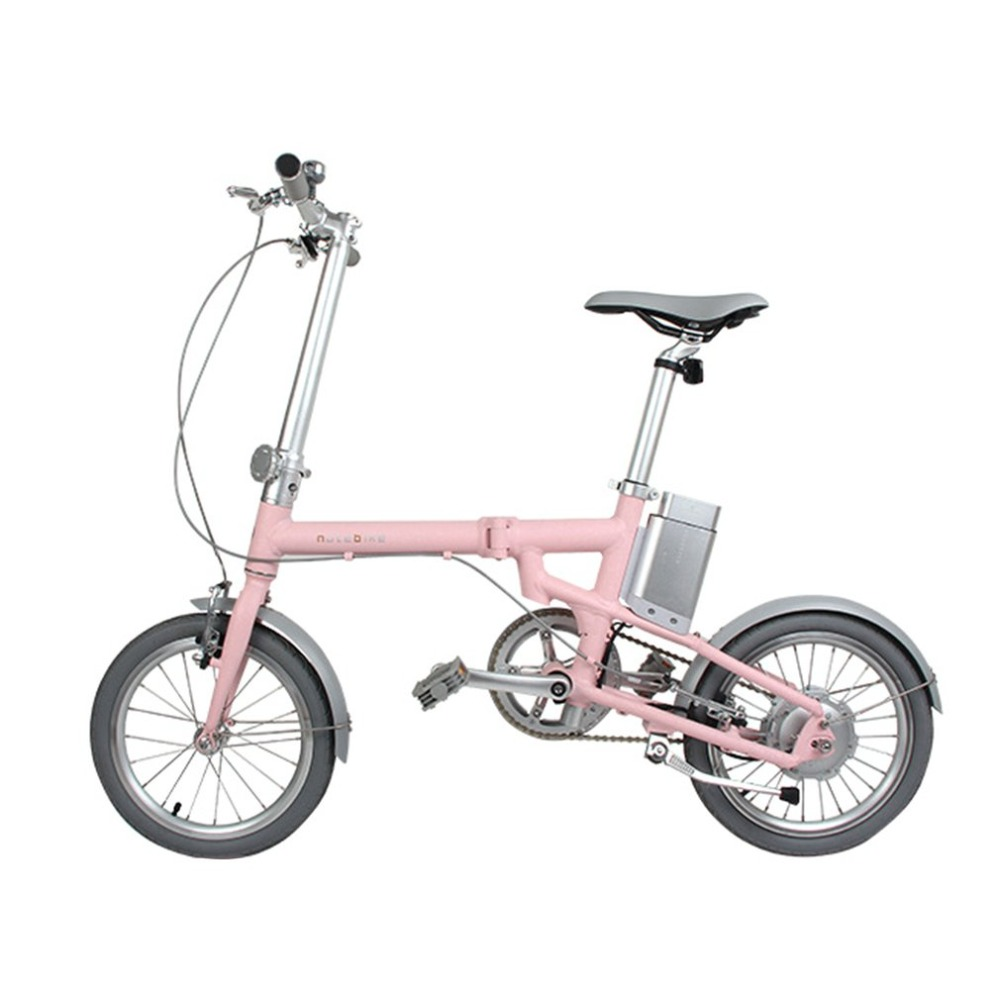 150W Brushless Motor Electric Folding Bicycle With 16 inch Wheel 36V Lithium Battery Mini E-bike Sport Mountain Bicycle rockbros titanium ti pedal spindle axle quick release for brompton folding bike bicycle bike parts