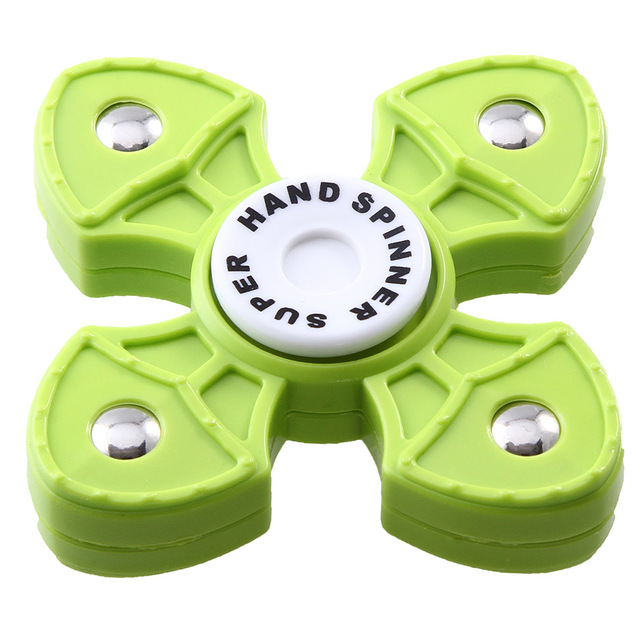 High Quality Hands Spinner For Autism EDC Rotation Time Long Plastic Fidget Spinner Anti Stress Toys Color Random
