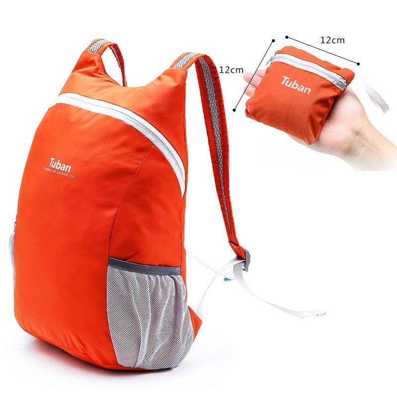 TUBAN Lightweight Nylon Foldable Backpack Waterproof Backpack Folding Bag Portable Pack for Women Men Travel mara s dream 2018 lightweight foldable zipper nylon women men pack bag backpack travel leisure backpacking bag unisex rucksack