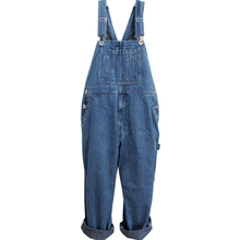 Loose Pants Mens Denim Trousers Overalls Jeans Washed Work Summer Jumpsuits E77