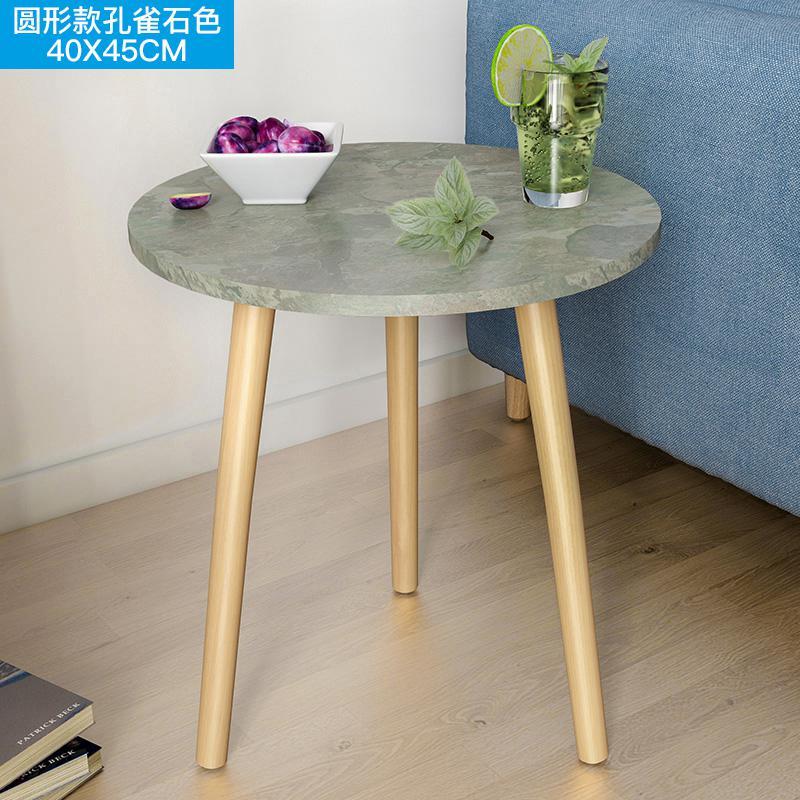Скандинавский журнальный столик для гостиной, современный минималистичный чайный столик из твердой древесины, многофункциональный чайный столик - Цвет: Style 6