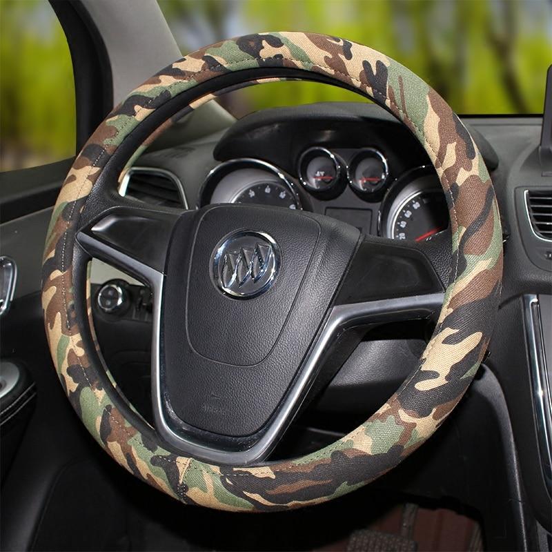 MUNIUREN de înaltă calitate calssic om camuflaj Inna masina volanul - Accesorii interioare auto