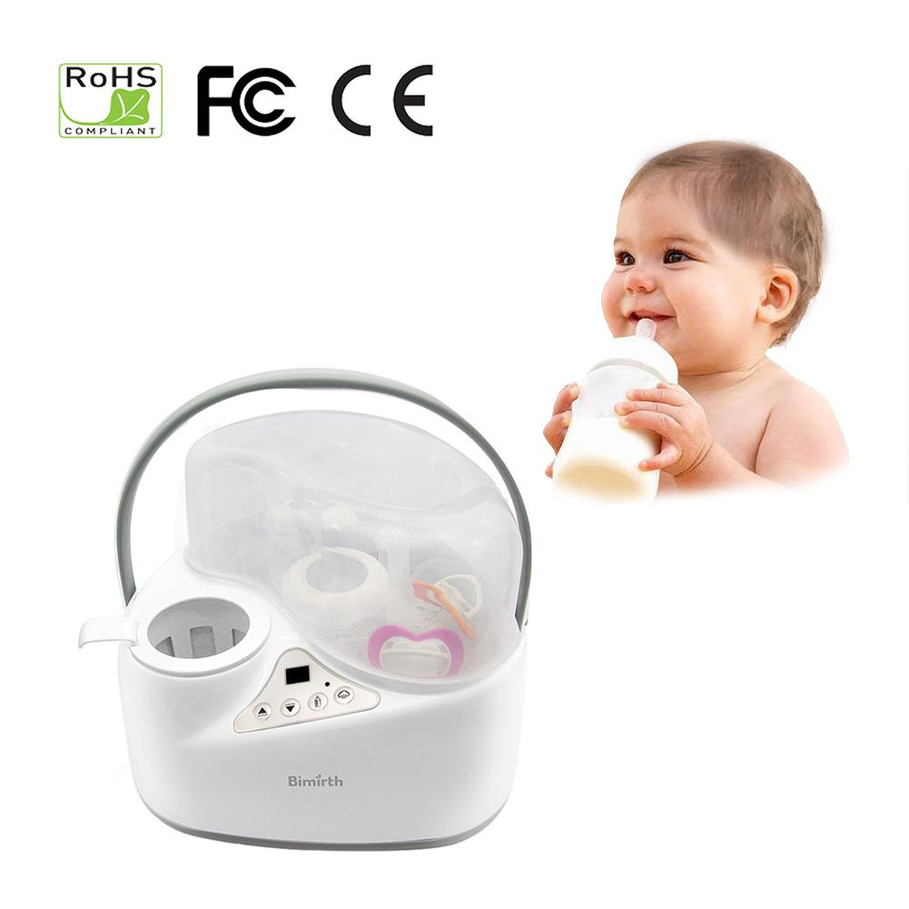 4-in-1 Portable Fast Bottle Warmer Smart Baby Milk Heating Milk Bottle Sterilizer Thermostat Warmer Disinfection Food Heating 220v multifunction baby bottle warmer milk food heater steam sterilizer thermostat heating bottle warmer hot milk