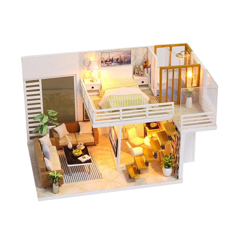 Simple and Elegant DIY 3D Wooden Loft Kit