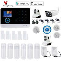 Yobang Security WIFI Home Burglar Security Alarm System Smart Alarm APP Control Voice Prompt Alarm Systems Security Home