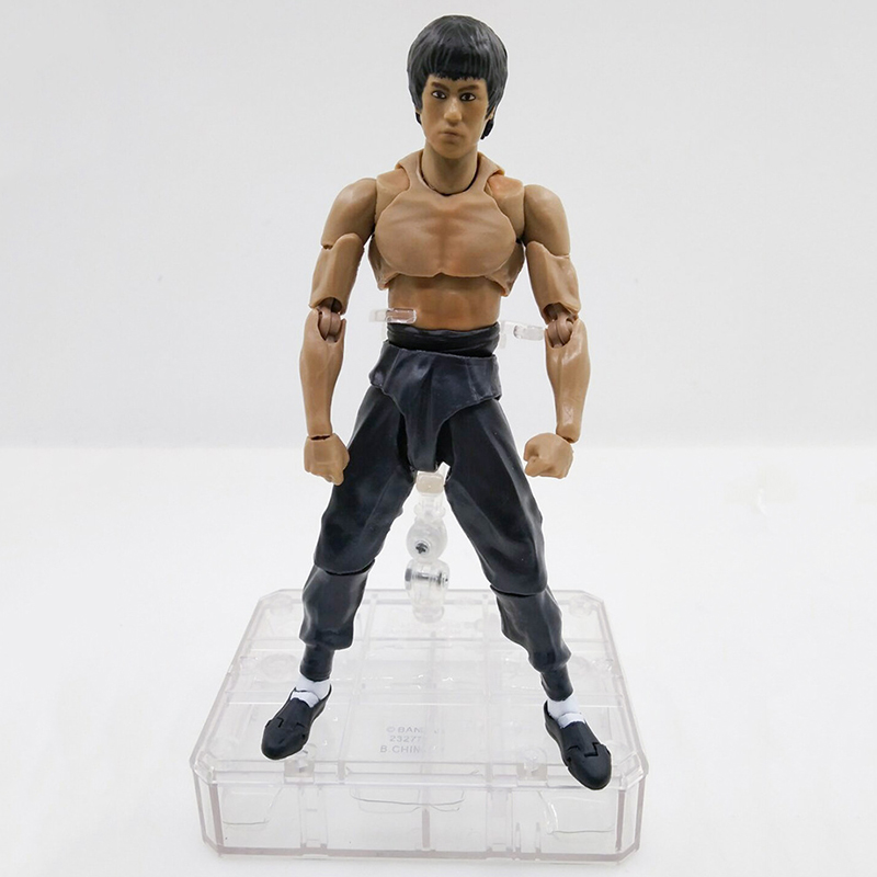 US $28 87 |New S H  Figuarts SHF Bruce Lee Kungfu Master Moveable PVC  Action Figure 75th Anniversary Toys Christmas Gift New in BOX -in Action &  Toy