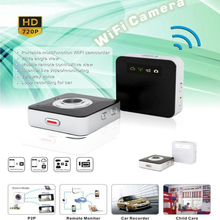 Sale Portable Multifunction Wifi Mini Camcorder Camera HD 720P Digital Loop Video Recorder Car DV DVR Micro Webcam Remote Monitor Cam